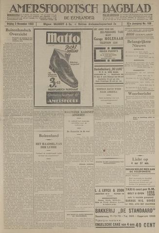 Amersfoortsch Dagblad / De Eemlander 1933-11-03