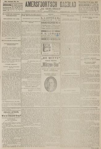Amersfoortsch Dagblad / De Eemlander 1927-10-19