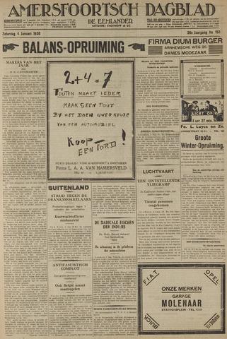 Amersfoortsch Dagblad / De Eemlander 1930-01-04