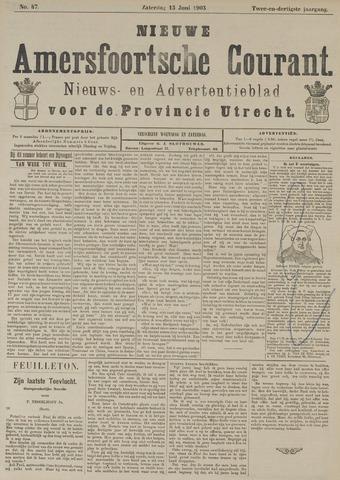 Nieuwe Amersfoortsche Courant 1903-06-13