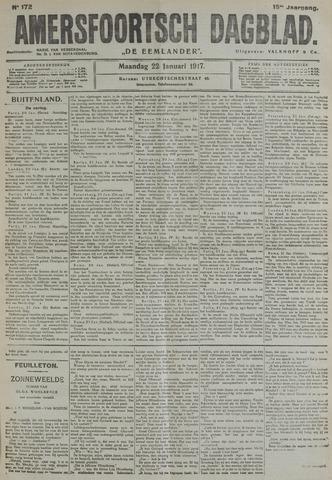 Amersfoortsch Dagblad / De Eemlander 1917-01-22
