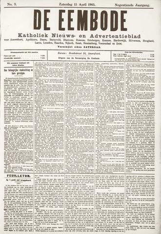 De Eembode 1905-04-15