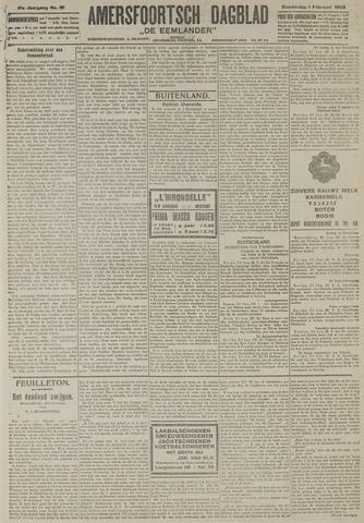 Amersfoortsch Dagblad / De Eemlander 1923-02-01
