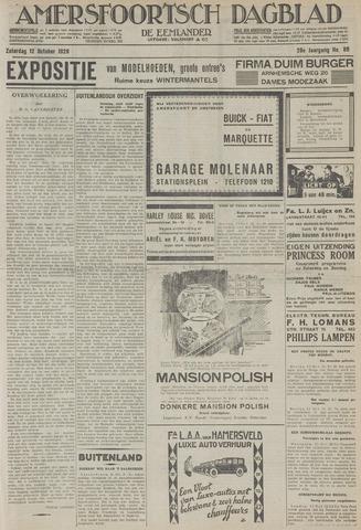Amersfoortsch Dagblad / De Eemlander 1929-10-12