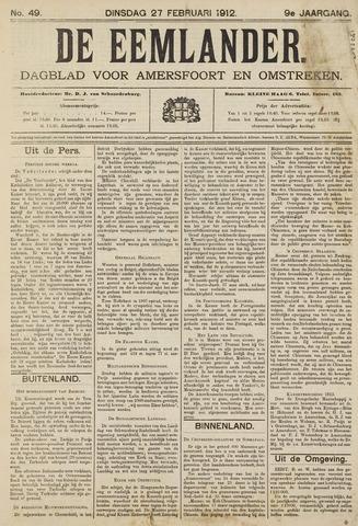 De Eemlander 1912-02-27