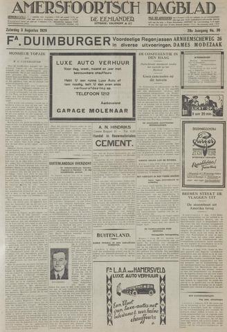 Amersfoortsch Dagblad / De Eemlander 1929-08-03