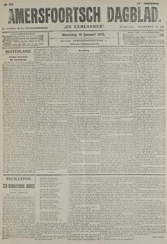 Amersfoortsch Dagblad / De Eemlander 1915-01-18
