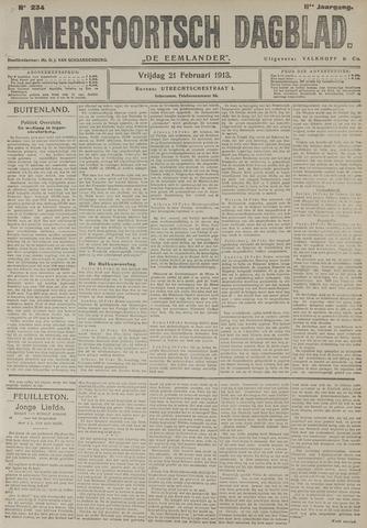 Amersfoortsch Dagblad / De Eemlander 1913-02-21
