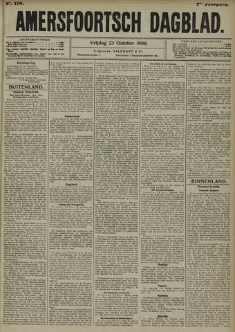 Amersfoortsch Dagblad 1908-10-23