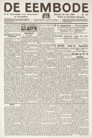 De Eembode 1925-10-20