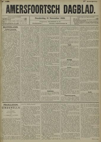 Amersfoortsch Dagblad 1908-11-19