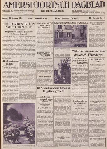 Amersfoortsch Dagblad / De Eemlander 1940-08-26