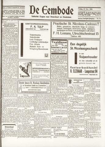 De Eembode 1934-11-30