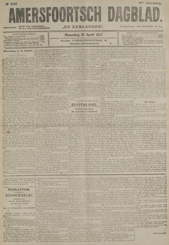 Amersfoortsch Dagblad / De Eemlander 1917-04-16