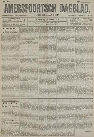Amersfoortsch Dagblad / De Eemlander 1914-03-18