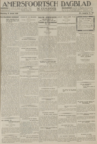 Amersfoortsch Dagblad / De Eemlander 1929-01-16