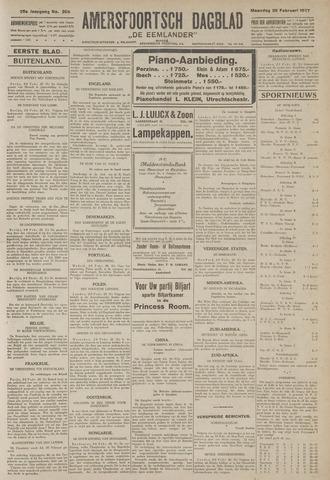 Amersfoortsch Dagblad / De Eemlander 1927-02-28