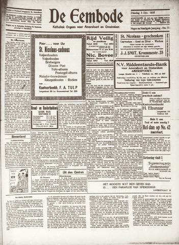 De Eembode 1935-12-03