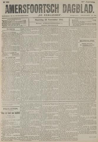 Amersfoortsch Dagblad / De Eemlander 1915-11-29