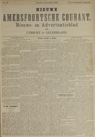 Nieuwe Amersfoortsche Courant 1893-12-09
