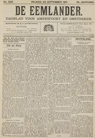 De Eemlander 1911-09-22