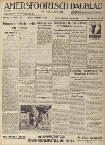 Amersfoortsch Dagblad / De Eemlander 1940-10-19