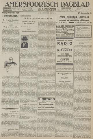 Amersfoortsch Dagblad / De Eemlander 1928-11-13