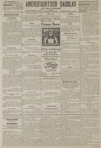 Amersfoortsch Dagblad / De Eemlander 1926-09-20