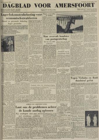Dagblad voor Amersfoort 1949-09-22