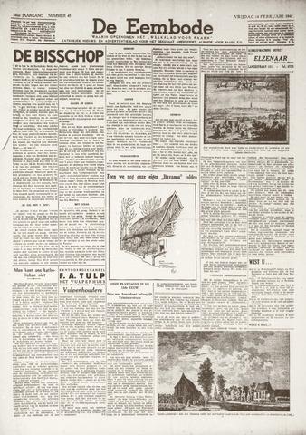 De Eembode 1941-02-14