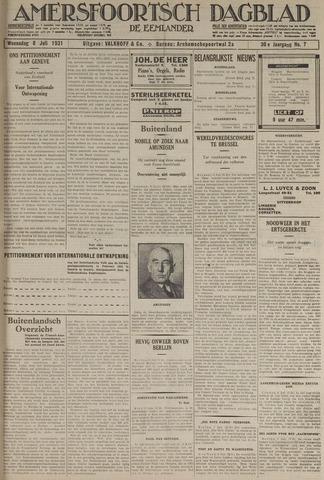 Amersfoortsch Dagblad / De Eemlander 1931-07-08