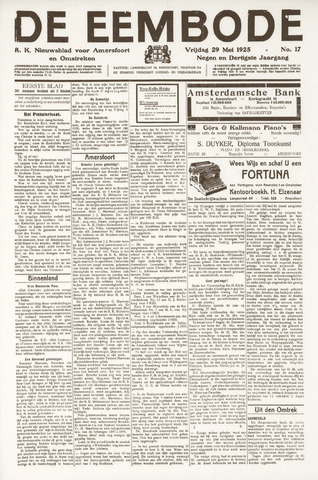 De Eembode 1925-05-29