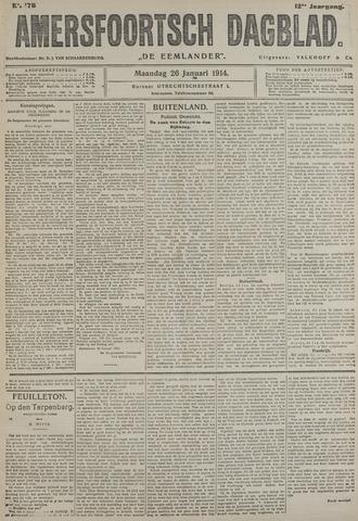 Amersfoortsch Dagblad / De Eemlander 1914-01-26