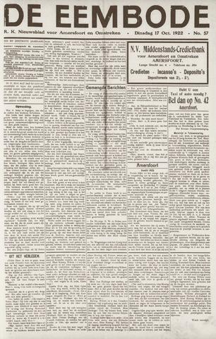De Eembode 1922-10-17