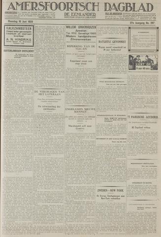 Amersfoortsch Dagblad / De Eemlander 1929-06-10