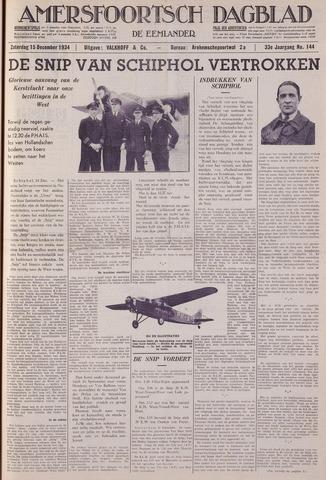 Amersfoortsch Dagblad / De Eemlander 1934-12-15