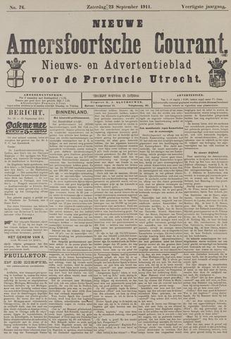 Nieuwe Amersfoortsche Courant 1911-09-23