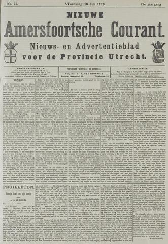 Nieuwe Amersfoortsche Courant 1913-07-16