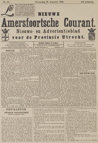 Nieuwe Amersfoortsche Courant 1915-08-25
