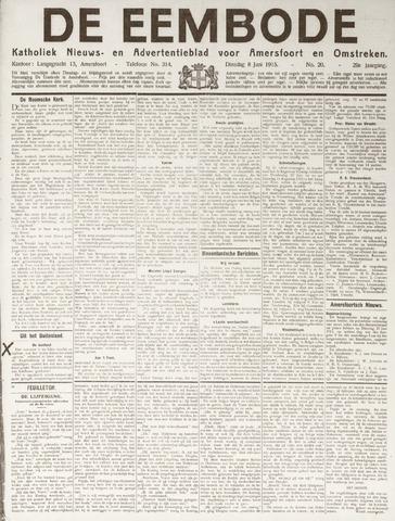 De Eembode 1915-06-08