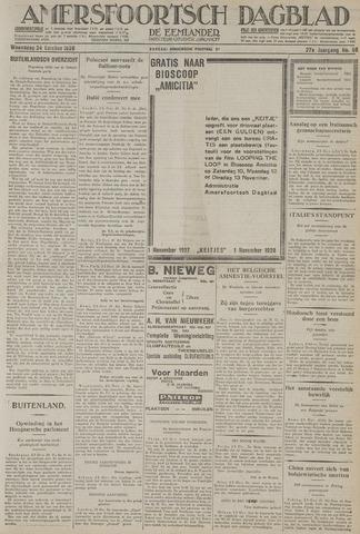 Amersfoortsch Dagblad / De Eemlander 1928-10-24