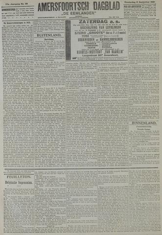Amersfoortsch Dagblad / De Eemlander 1921-09-08