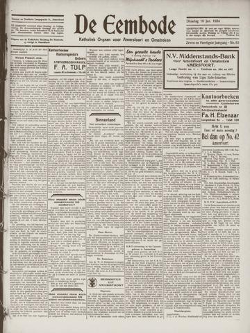 De Eembode 1934-01-16