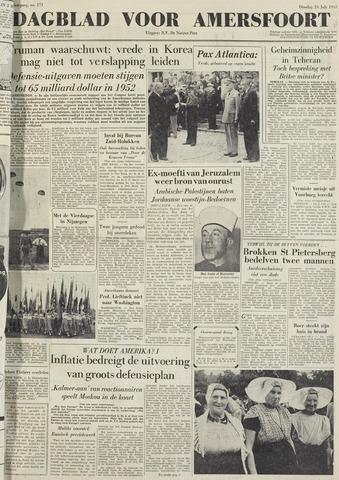 Dagblad voor Amersfoort 1951-07-24