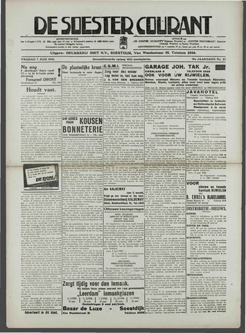 Soester Courant 1940-06-07