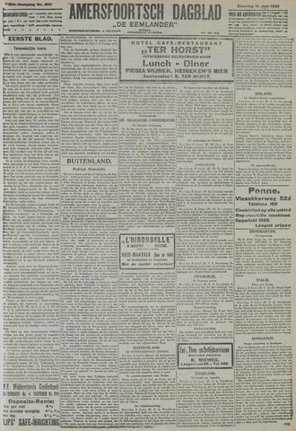 Amersfoortsch Dagblad / De Eemlander 1922-06-10