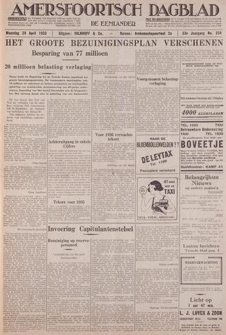 Amersfoortsch Dagblad / De Eemlander 1935-04-29