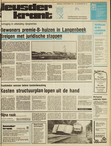 Leusder Krant 1981-09-15