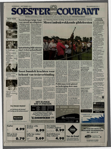 Soester Courant 2004-09-01