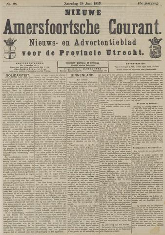 Nieuwe Amersfoortsche Courant 1919-06-28